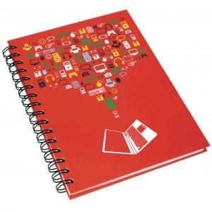 A5 Hardback Wiro Notebook - Totally Branded
