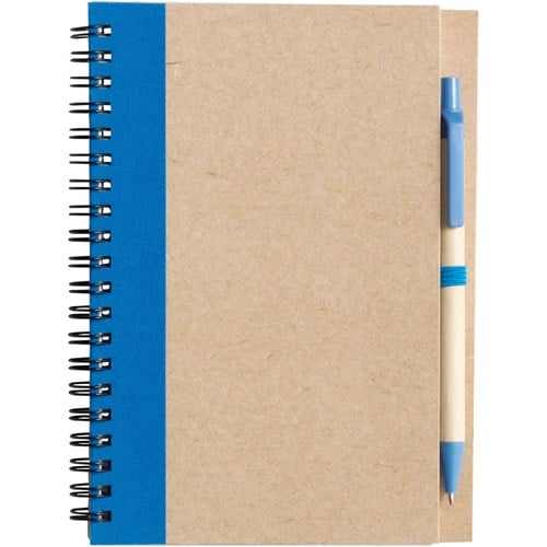 Recycled Wire Bound Notebook - Eco Freindly Promotional Notebooks - Totally Branded