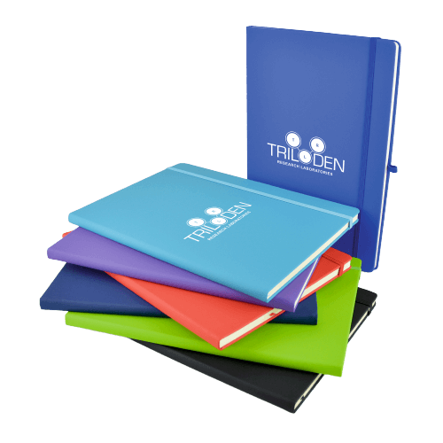 Branded A4 Mole Notebook Colours - Totally Branded