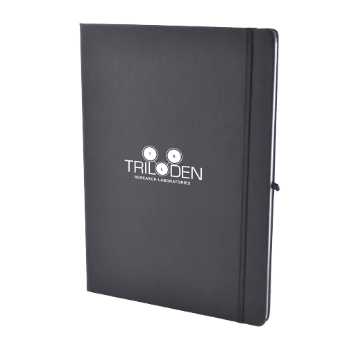 Branded A4 Mole Notebook Black - Totally Branded