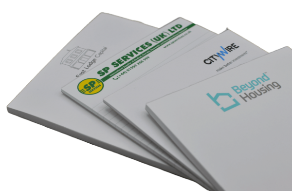Printed Notepads - Totally Branded