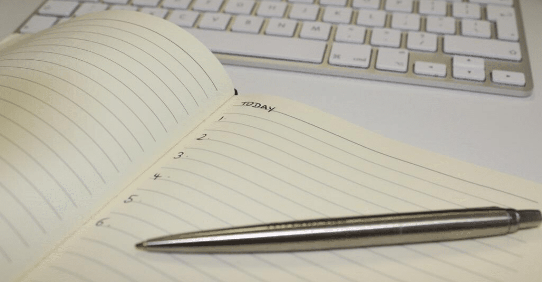 Notebook Productivity by Ivy Lee
