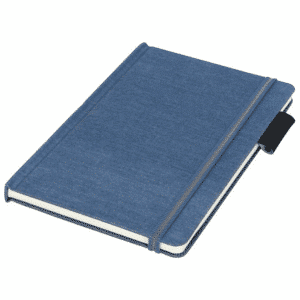 Jeans Fabric A5 Notebook