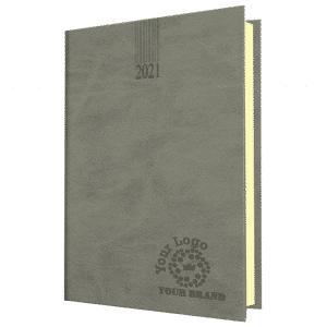 Branded A5 Diary in Grey