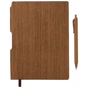 A5 Wood Look Journals