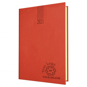 Newhide Branded Diary Quarto Size