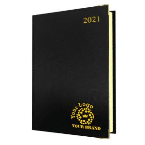 A5 Deluxe FineGrain Diary
