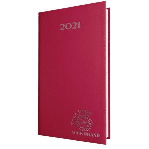 SmoothGrain Pocket Diary Burgundy