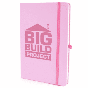 Individually Named Soft Cover Notebooks