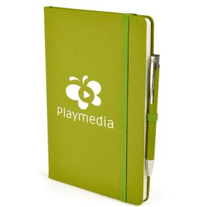 Branded Notebook & Pen