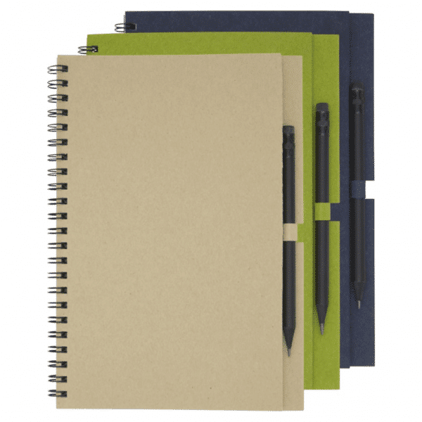 Eco Friendly Notebook & Pencil Set